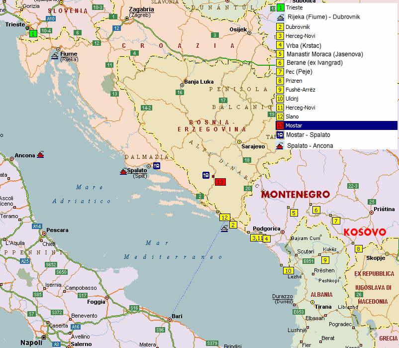 Cartina Della Slovenia E Croazia.Viaggio Al Centro Dei Balcani Sito Sputnik