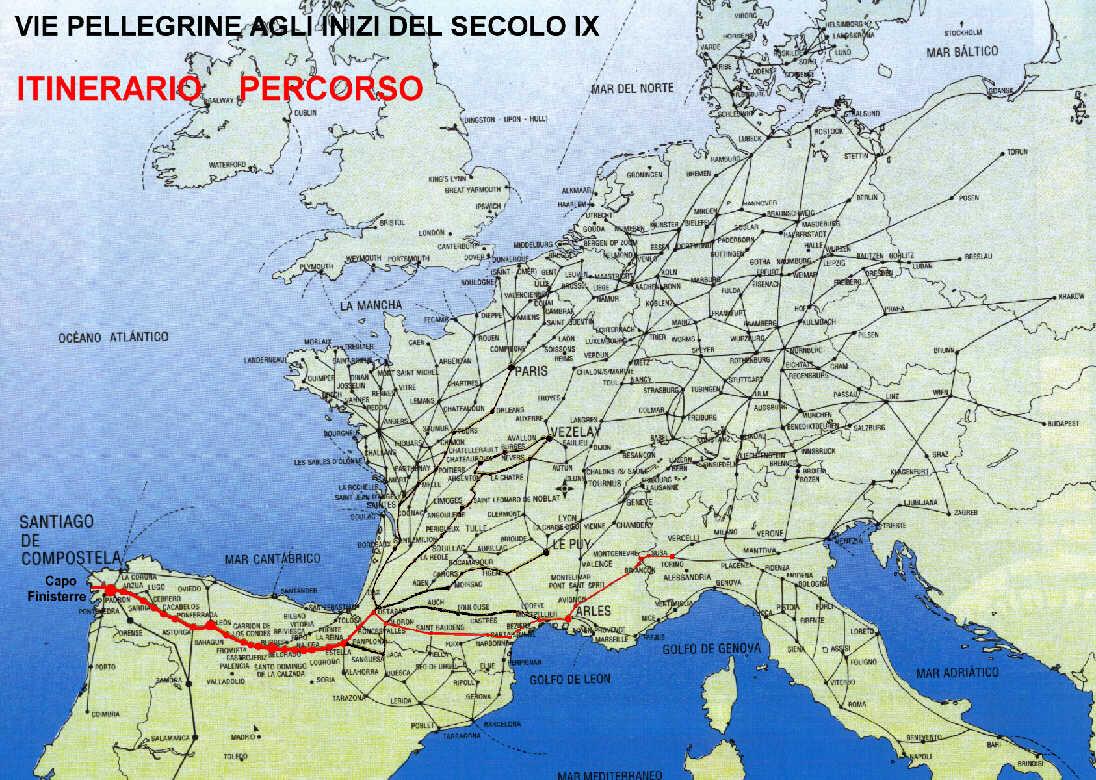 Cartina Italia Francia E Spagna.Da Torino A Capo Finisterre In Bici Francia E Spagna In