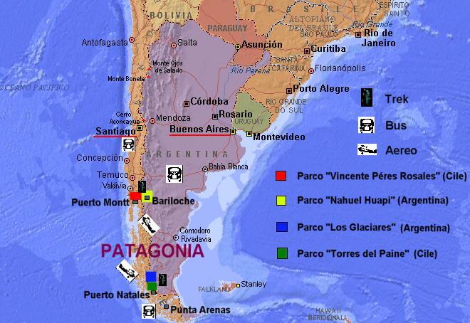 Patagonia Cartina Geografica.Argentina Cile Un Mese In Patagonia Sito Sputnik